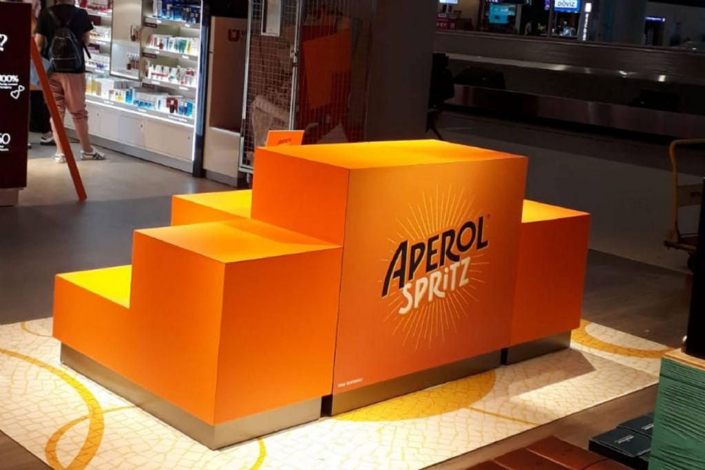 APEROL SPRITZ-ISTANBUL NEW AIRPORT